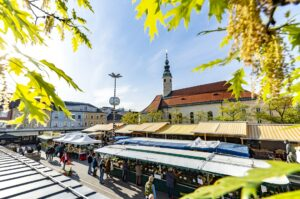 Benediktinermarkt in Klagenfurt