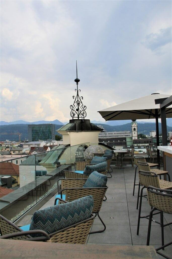 Hotel Moser Verdino Dachterrasse