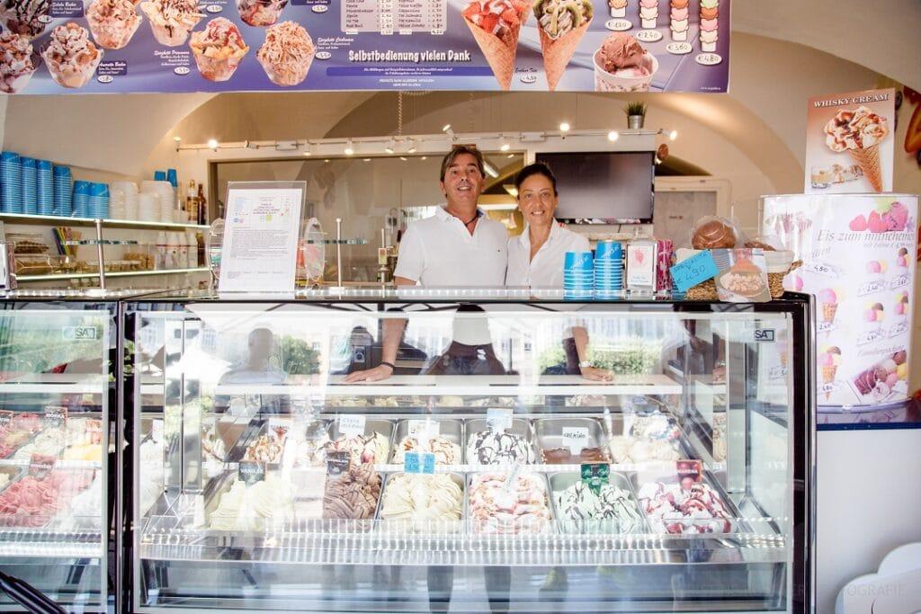 Die besten Eissalons in Klagenfurt