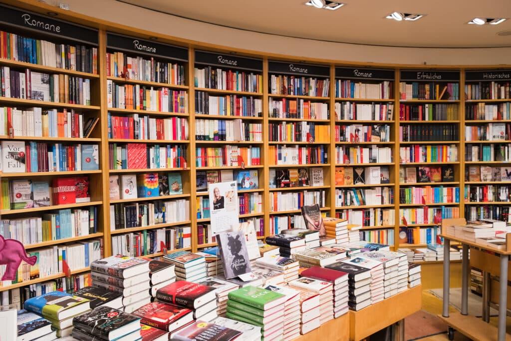 Buchhandlung Heyn als perfektes Schlechtwetterprogramm