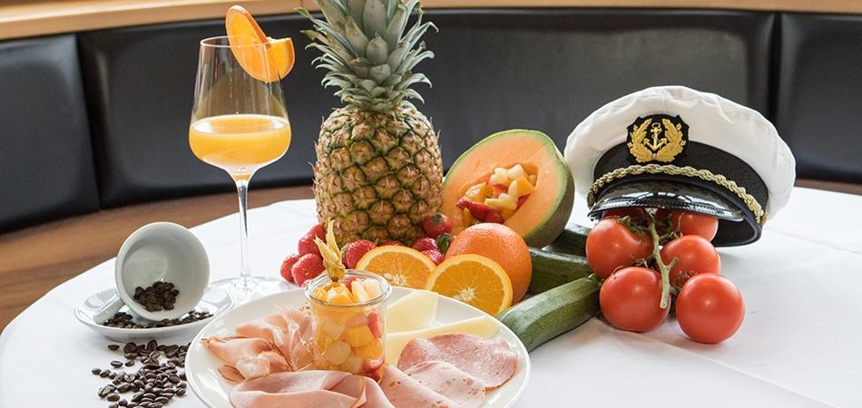 Kapitänsfrühstück