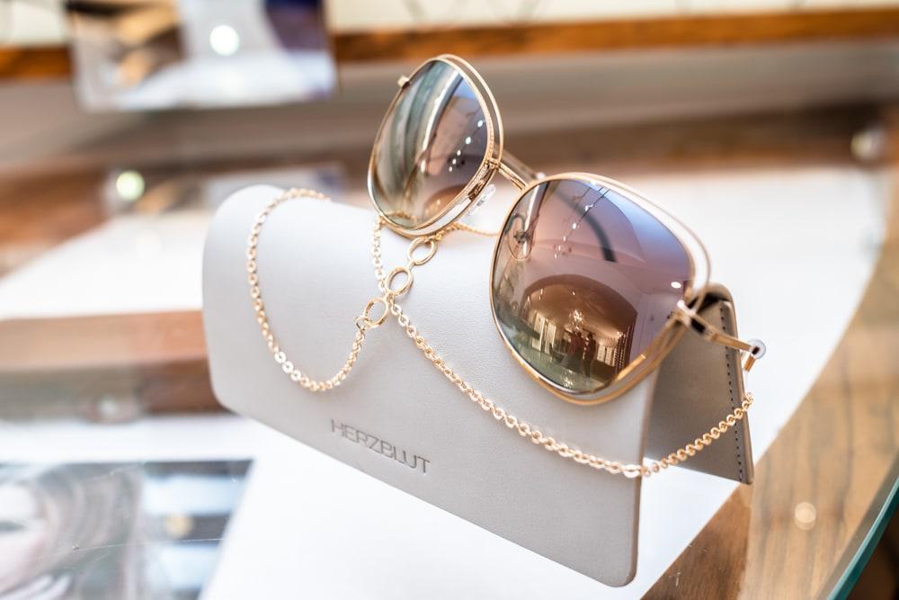 Sonnenbrille, Optik, gold, verspiegelt, Frühlingstrends, 9020 Klagenfurt am Wörthersee