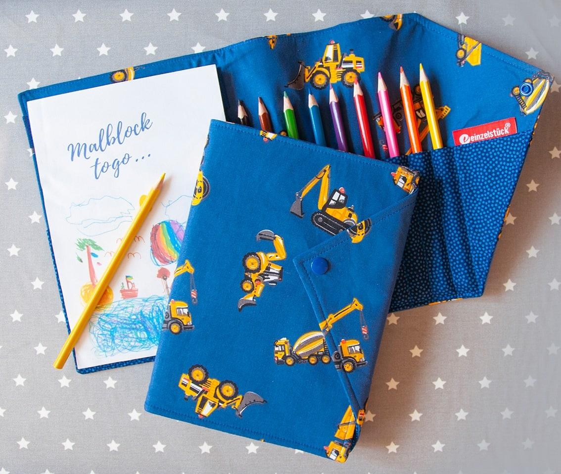 Malblock to Go, Malbuch, Kinder, Ostern, Ostergeschenke für Kinder, Geschenkideen, Osterfest, 9020 Klagenfurt am Wörthersee
