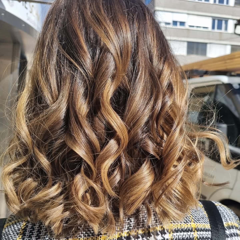 Haarfarbe, blond, Balayage, gold, Frisur, Friseur, Frühlingstrends, 9020 Klagenfurt am Wörthersee