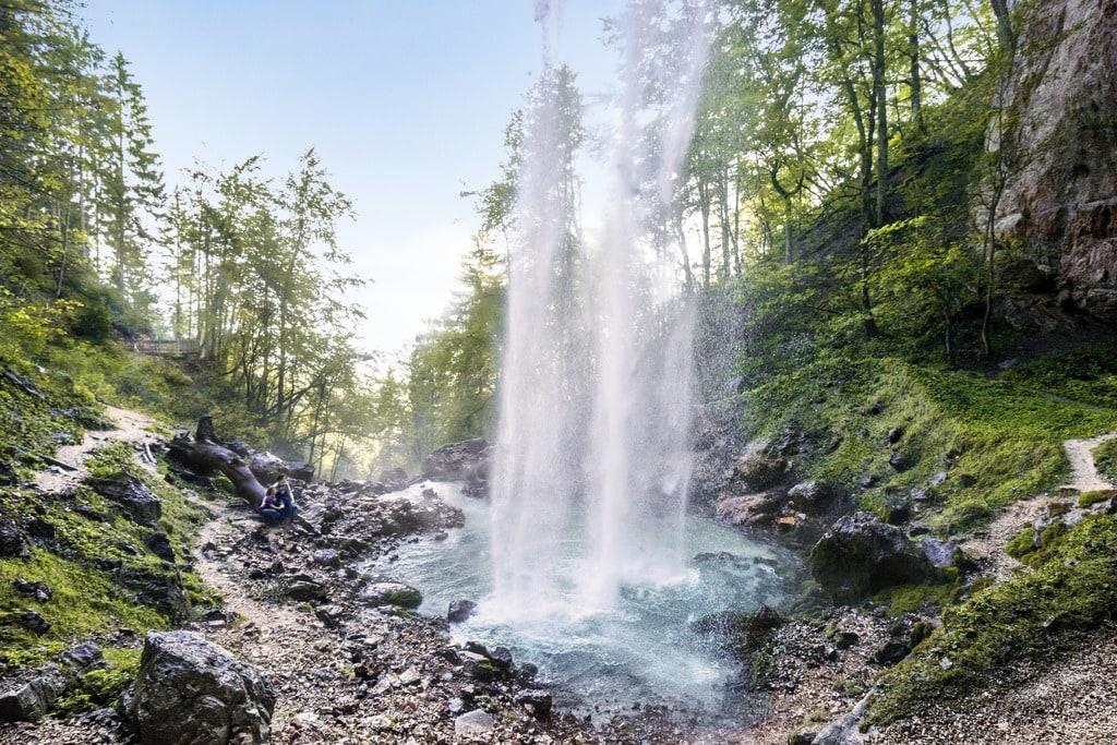 Kärntens schönste Ausflugsziele wie Wildensteiner Wasserfall