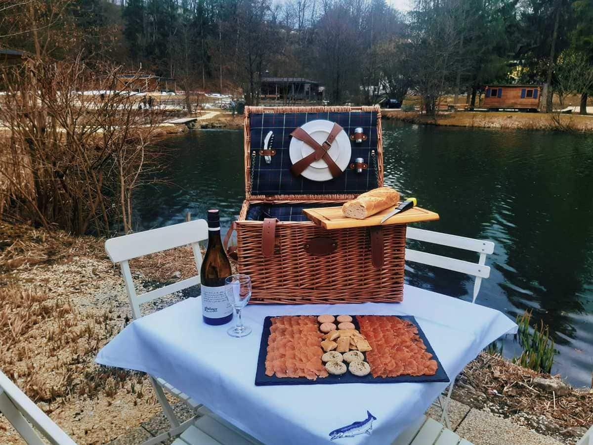 Picknick, See, Fisch, Picknickkorb, Muttertag 2021, Geschenkideen, 9020 Klagenfurt am Wörthersee