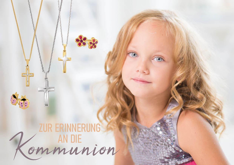 Kommunion, gold, silber, Kommunionsgeschenk, Mädchen, 9020 Klagenfurt am Wörthersee