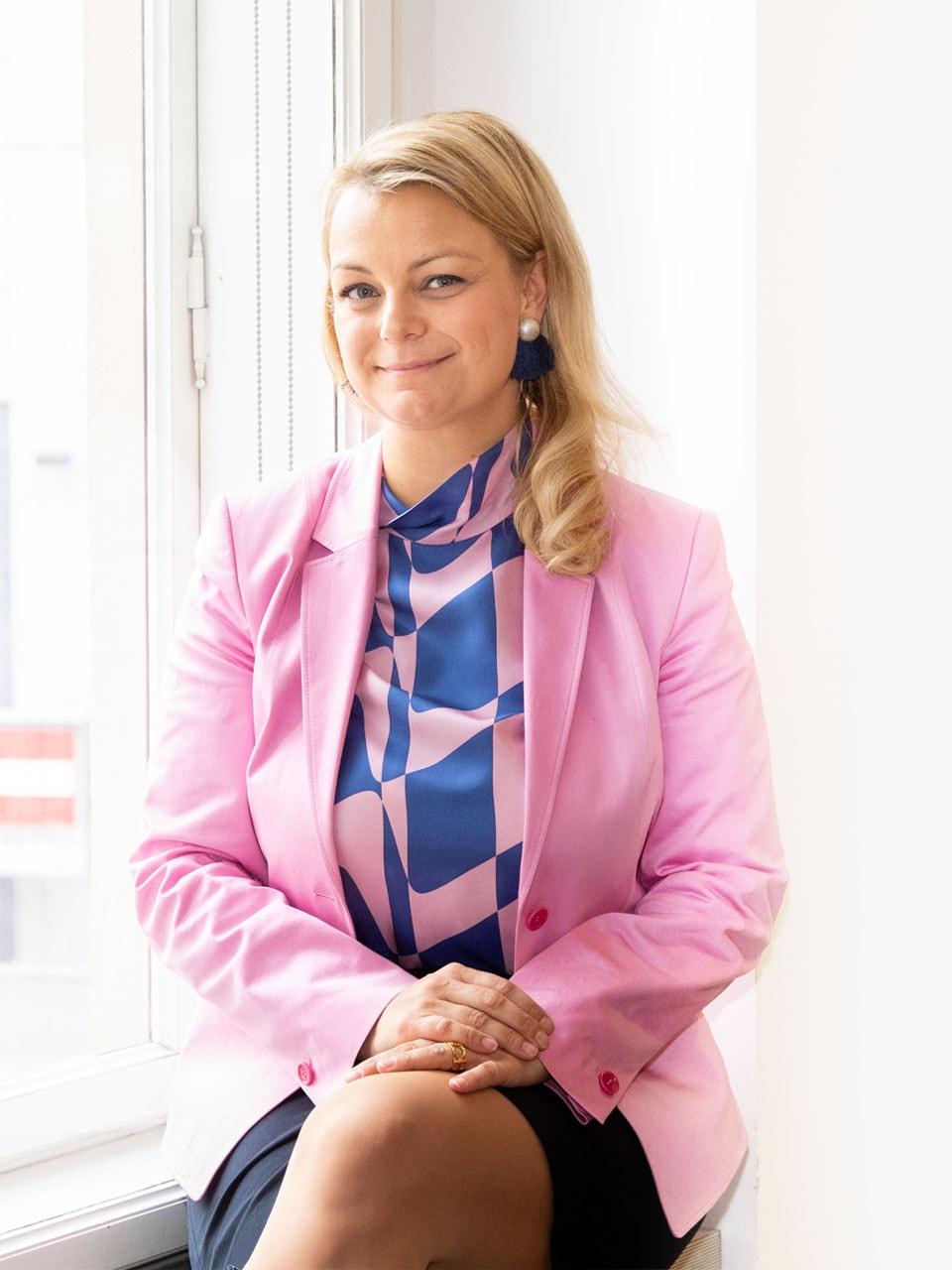 Steuerberaterin Christiane Holzinger (Bundesvorsitzende Junge Wirtschaft Österreich)