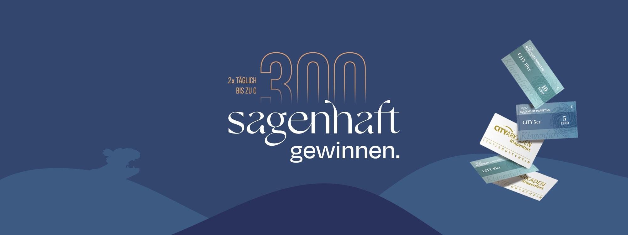 City 10er, Cityzehner, Gewinnspiel, sagenhaft gewinnen, Cashback, 9020 Klagenfurt am Wörthersee