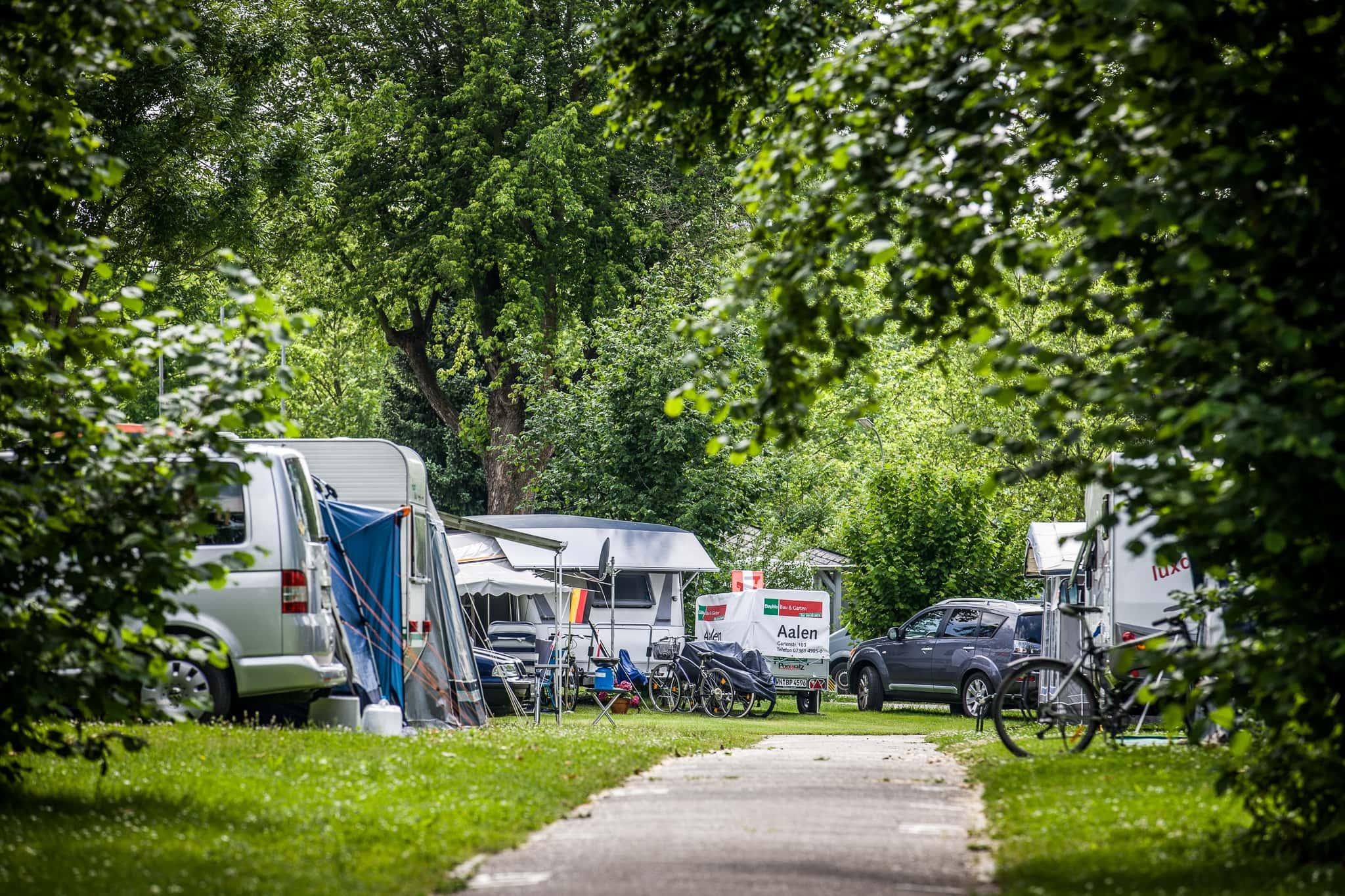 40.000 Quadratmeter und 370 Stellplätze auf unserem Campingplatz