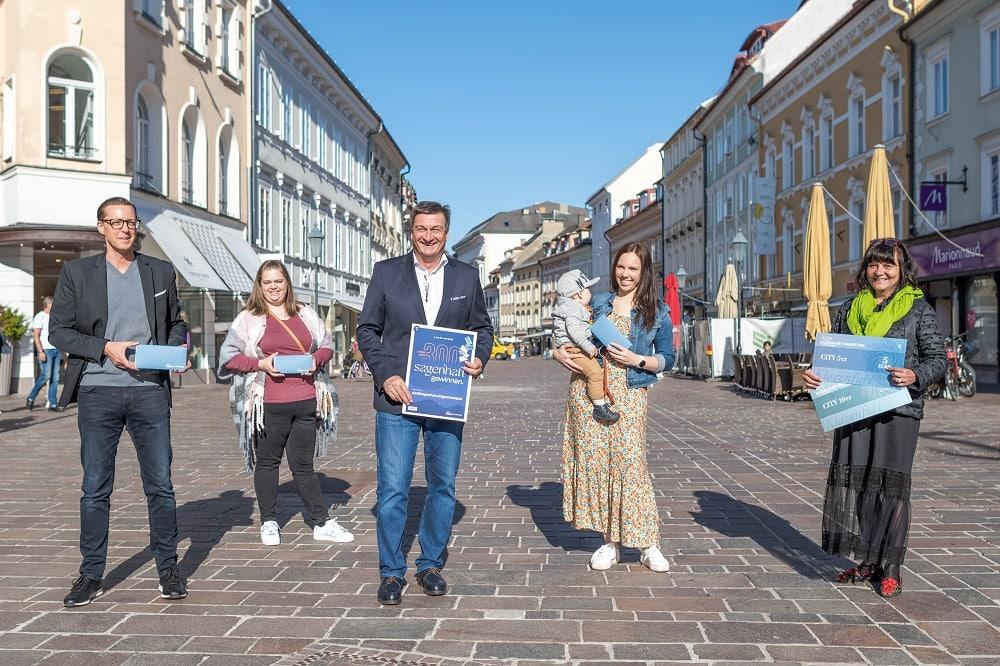Gewinner, Gewinnerin, Wirtschaftskammer, Hauptpreis, City Zehner, Gewinnspiel, Innenstadt 9020 Klagenfurt am Wörthersee, City Arkaden, gewinnen