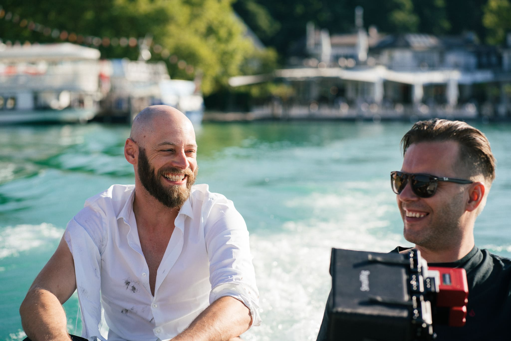 Dreharbeiten zum neuen Klagenfurt-Film