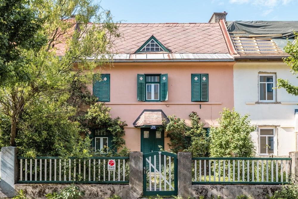 Das Bachmann-Haus in der Henselstrasse 26
