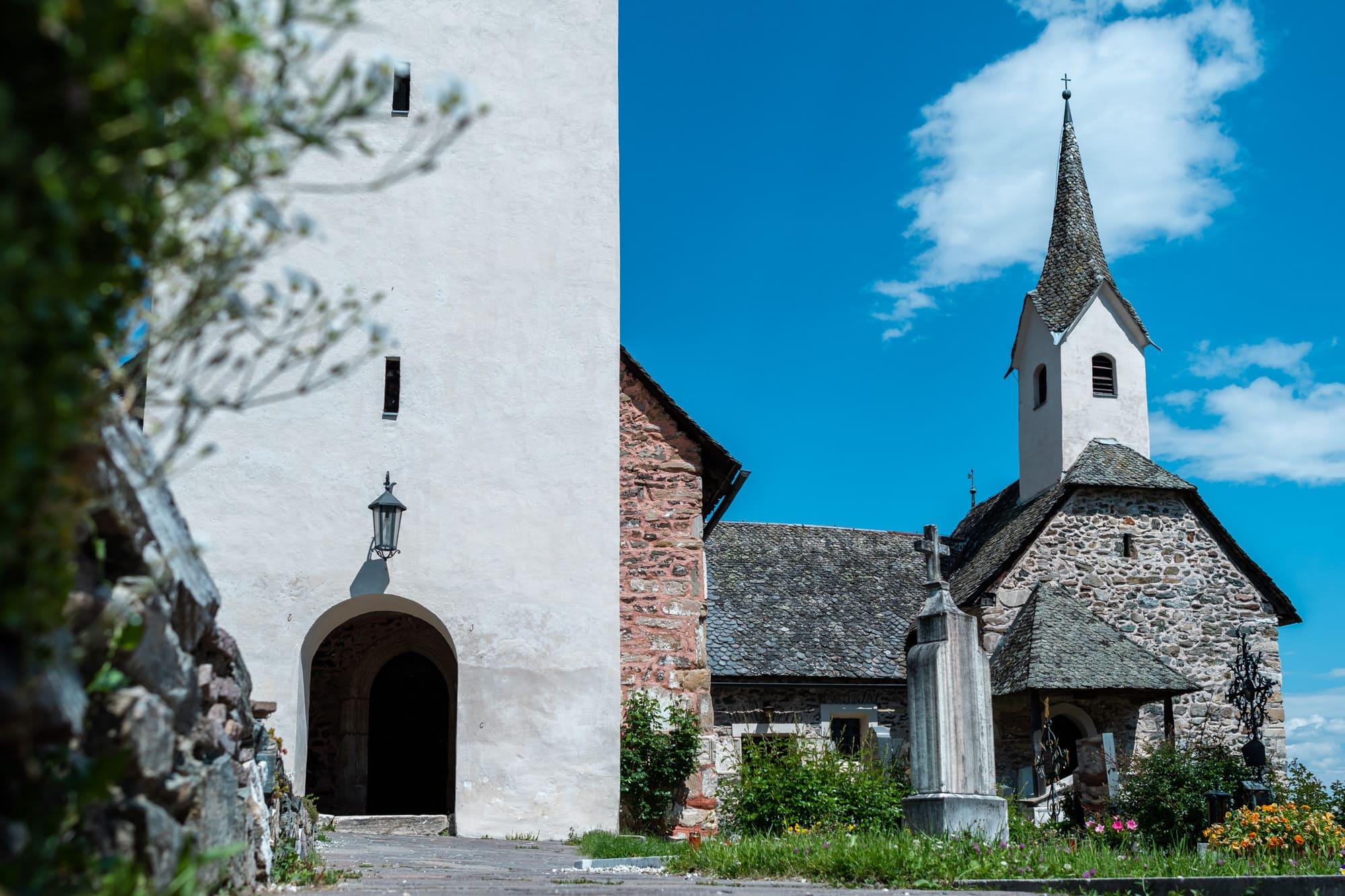 Die Pfalzkirche in Karnburg