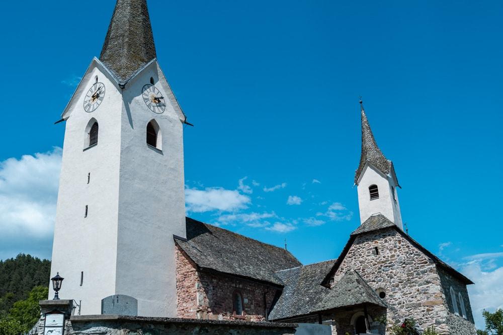 Die Pfalzkirche in Karnburg ist die älteste Kirche Kärntens