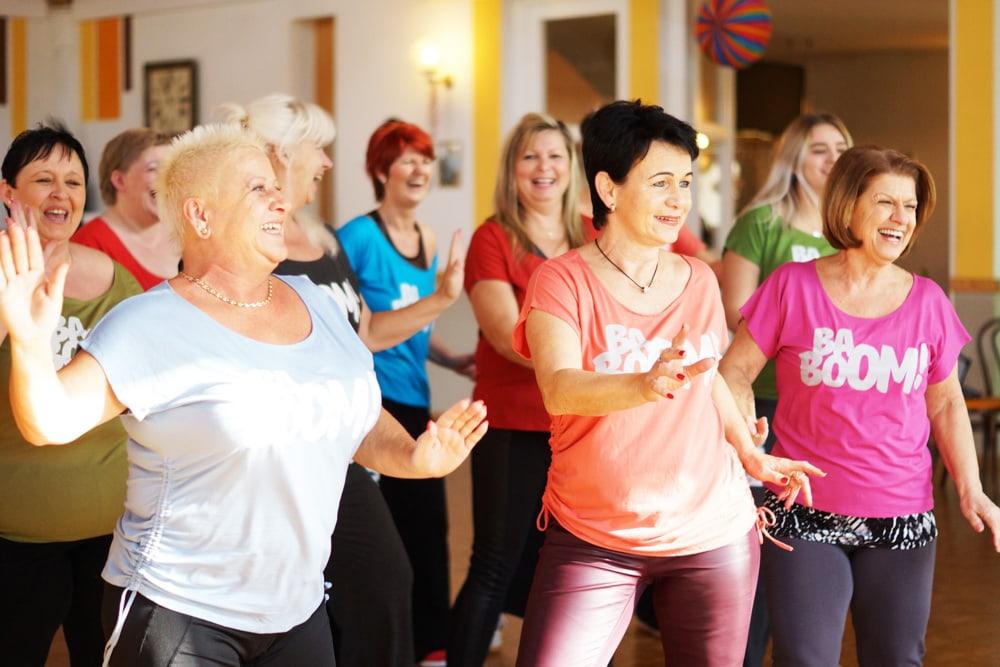 Tanzworkshop bei NDC für Damen, Solotanz