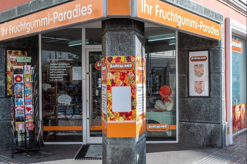 Außenansicht vom Geschäft Bärenland in Klagenfurt