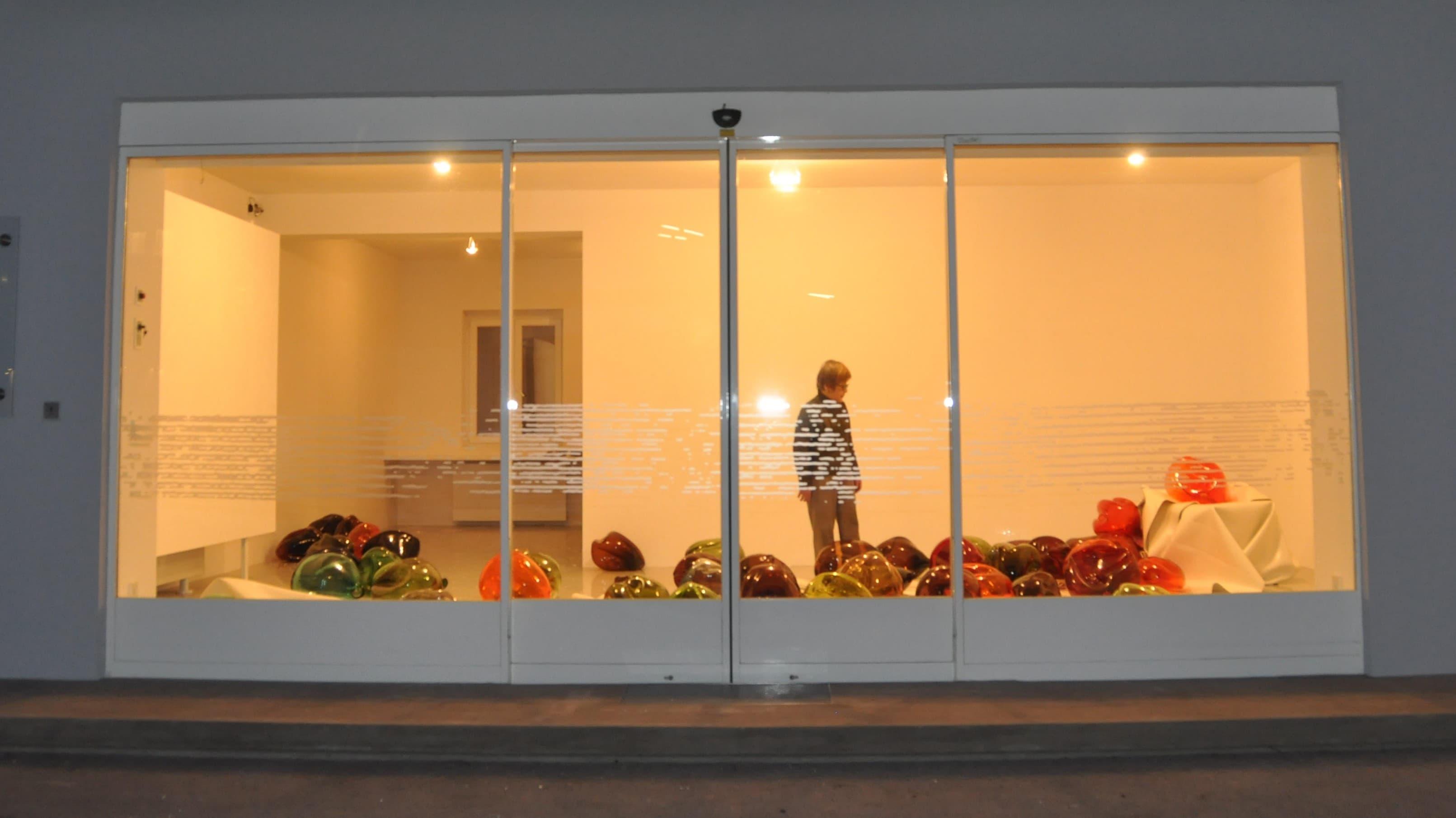 """Kunstraum Walker - Hiromi Masuda """"play the glass"""" 2011"""