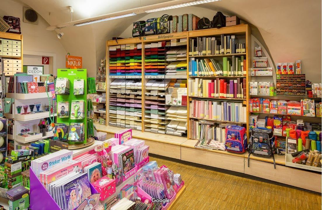 Blick in die Kärnten Buchhandlung