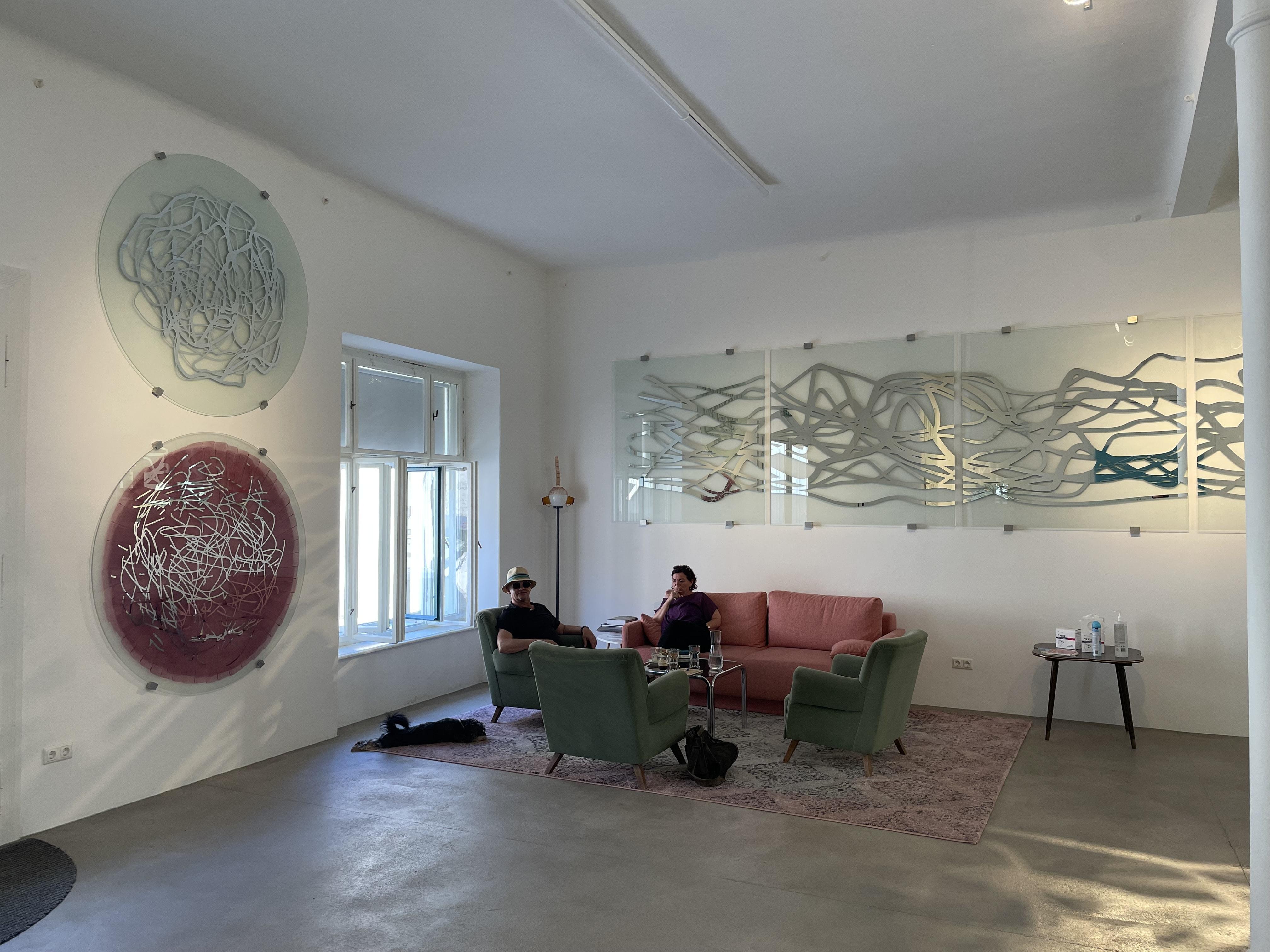 Ausstellung von Jochen Traar im Kunstbüro