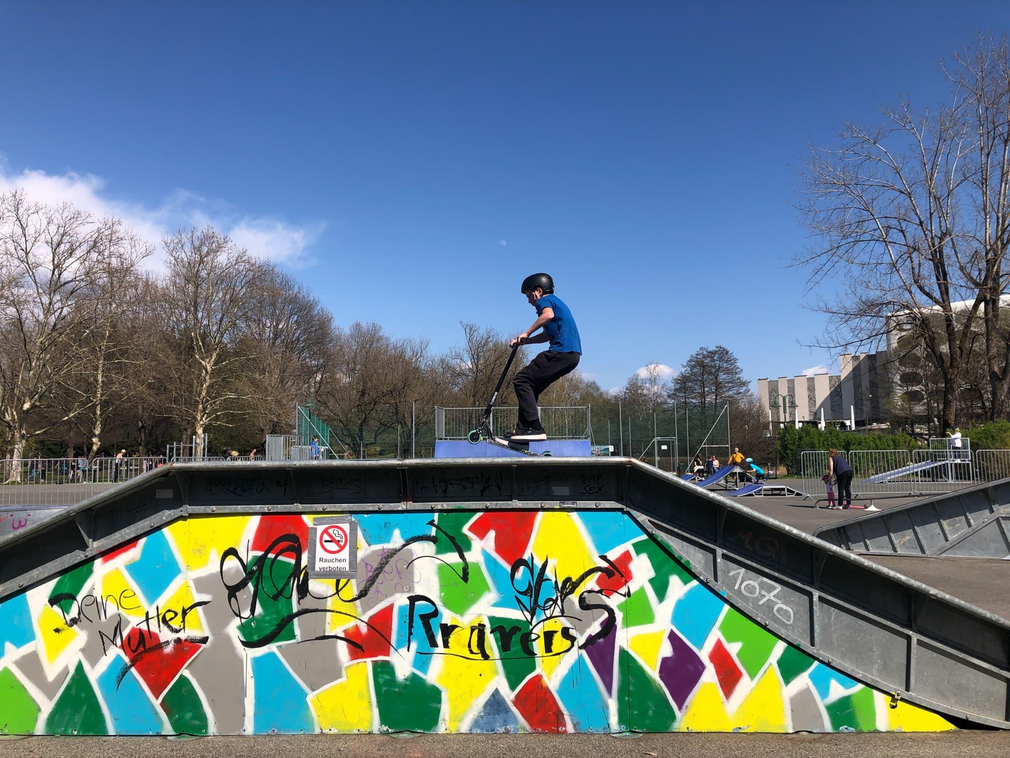 Der Skatepark im Europapark (c) Johanna Wohlfahrt