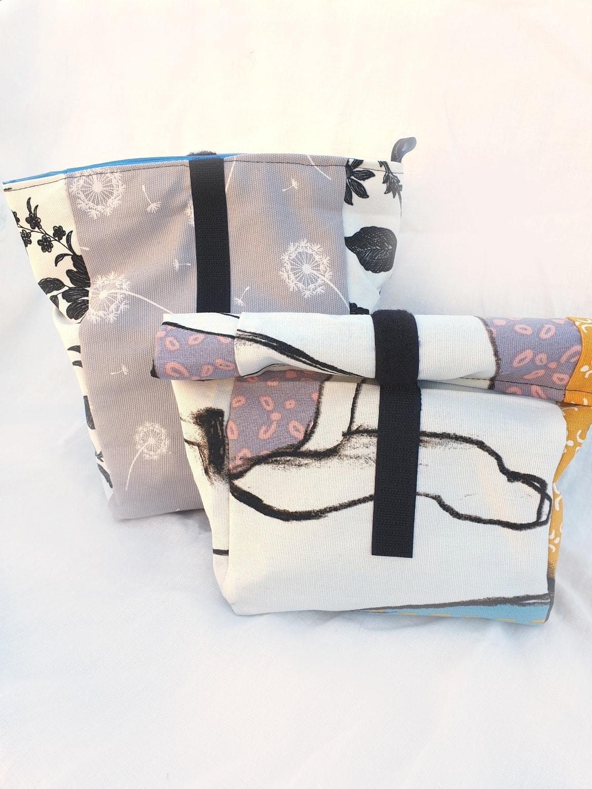 handgemachte Tasche von Designerin Sabine Steiner Vellick aus Klagenfurt zum Schulbeginn