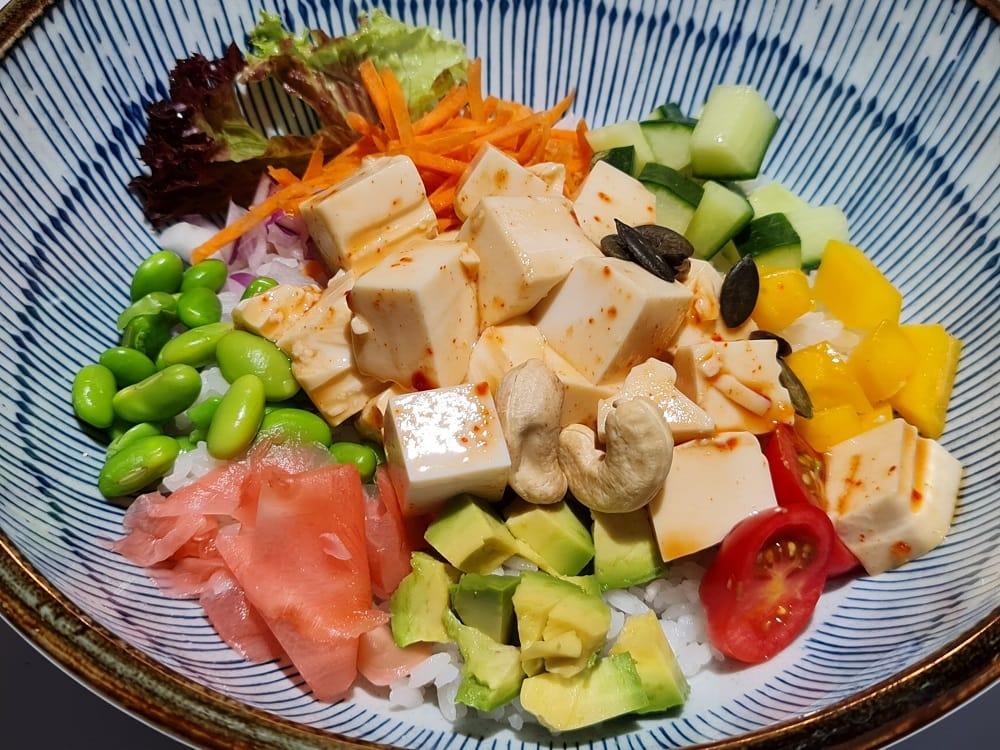 Vegane Tofu Bowl von Fusion Bar Sinos (c) Fusion Bar Sinos