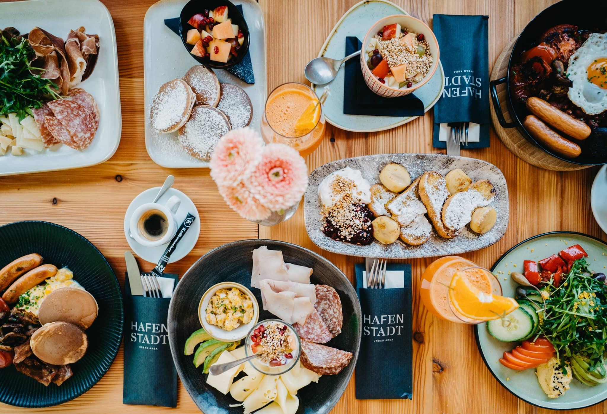 Süß und deftig frühstücken und brunchen in der Hafenstadt (c) Hafenstadt Urban Area
